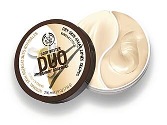 DAGENS PREMIE: Duo Body Butter Vanilla.