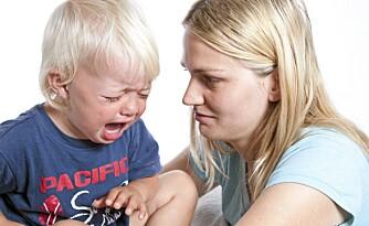 Det er normalt å være sint, redd eller lei seg. Foto: Colourbox.no