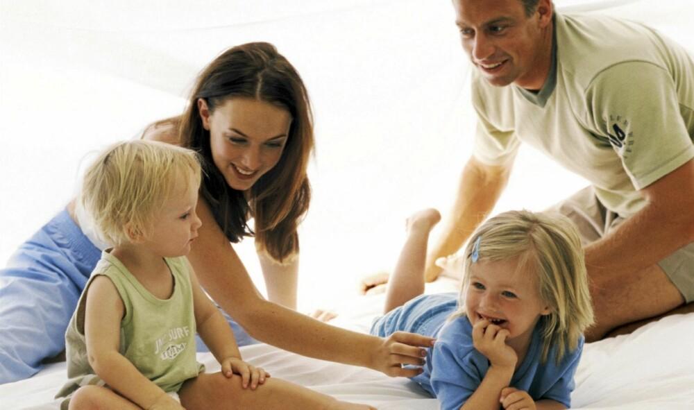 Daglig livet i familien har mange utfordringer, og det er ikke alltid det er ro og harmoni. Foto: Colourbox.no © Teo Lannie