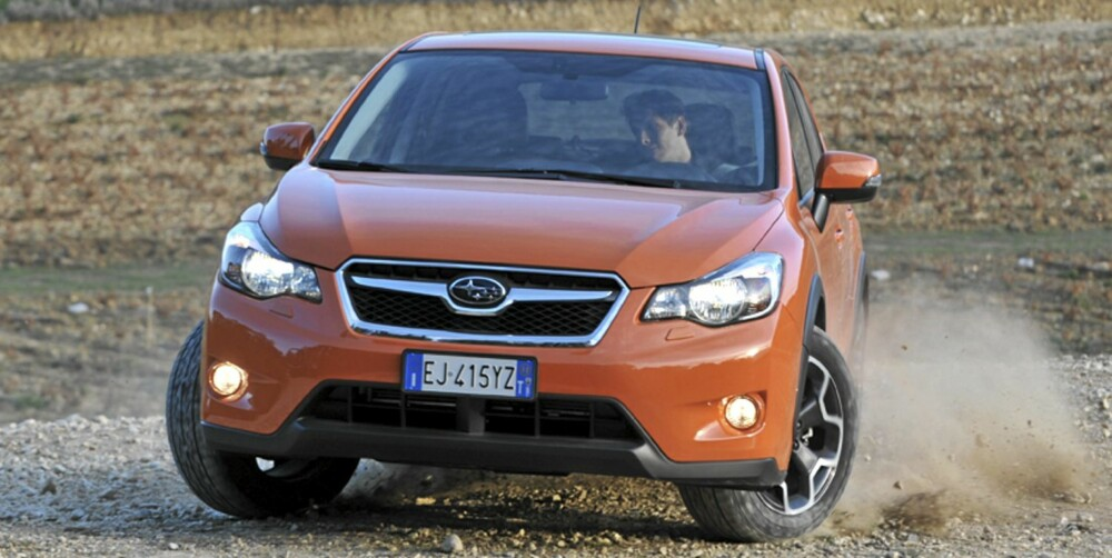 YPPER: Subaru XV blir nok en brysom konkurrent i klassen for kompakte SUV-er.