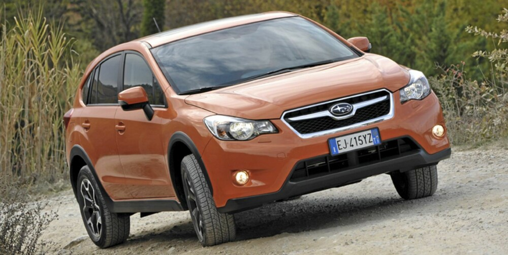 KJØRER BRA: Subaru XV kjører som en moderne crossover.