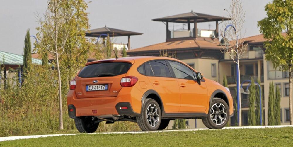 SNART I SALG: Subaru XV er til salgs i Norge fra januar.