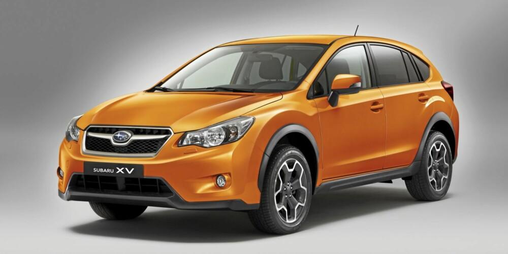 FAMILIEFJES: Det er ikke vanskelig å se likheten til Subaru Legacy.