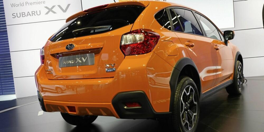 PREMIERE: Subaru XV ble vist frem for første gang på bilmessen i Frankfurt i høst.