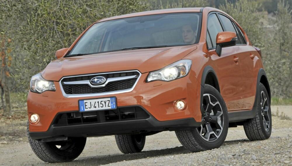 NORGESVENN: Høy bakkeklaring, 4x4 og bra pris: Subaru XV alt svært mange norske bilkunder setter pris på.