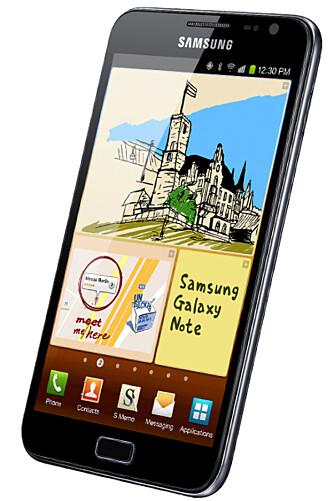 KJEMPE: Galaxy Note lopper deg for mye penger, men gir deg mye tilbake.