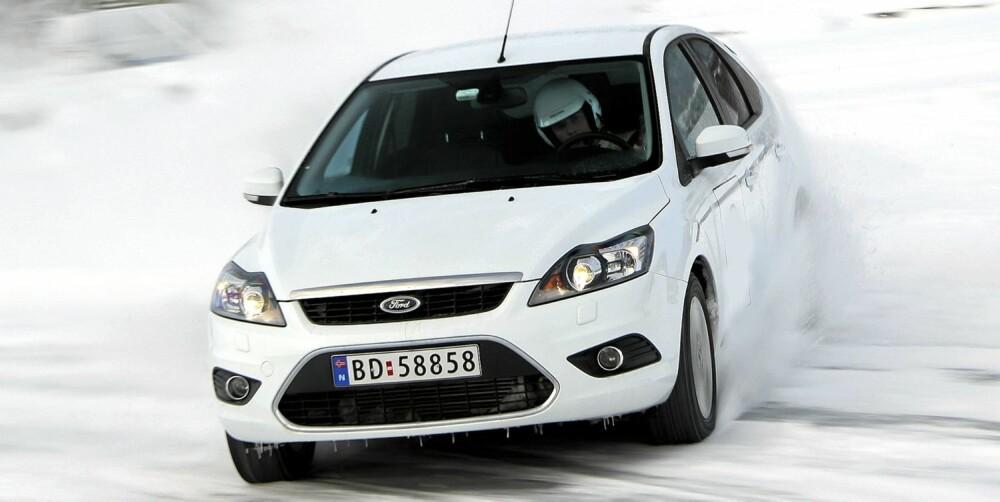 STORT VERDITAP: Forrige generasjon Ford Focus har hatt et stort verditap. Foto: Egil Nordlien