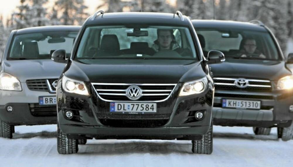 VINNERE: Små og nøkterne SUVer er verdifallsvinnere. Foto: Bjørn Inge Karlsen HM Foto