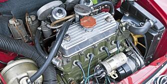 FUTT: Du trenger ikke stor motor når du er liten.