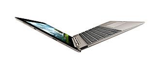 LIKHET: Asus Transformer Prime har mange likheter med PC-slektningen, Asus ZenBook.
