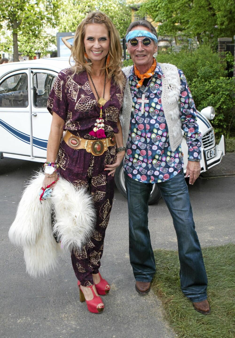 Under Petter Stordalens hippiefest 16. mai var ikke Gabrielle Margrete såvidt mer enn et glimt i sin far, Stein Støas, øye.