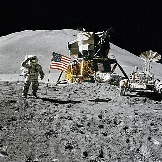 Apollo-ferdene var en av menneskehetens største teknologiske bragder noensinne. I dag har ikke NASA lenger egne bemannede romfartøy. Bildet er fra Apollo 15.