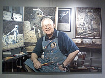 Alan Bean var fjerdemann på Månen. Synsinntrykkene formidler han i dag på lerretet.