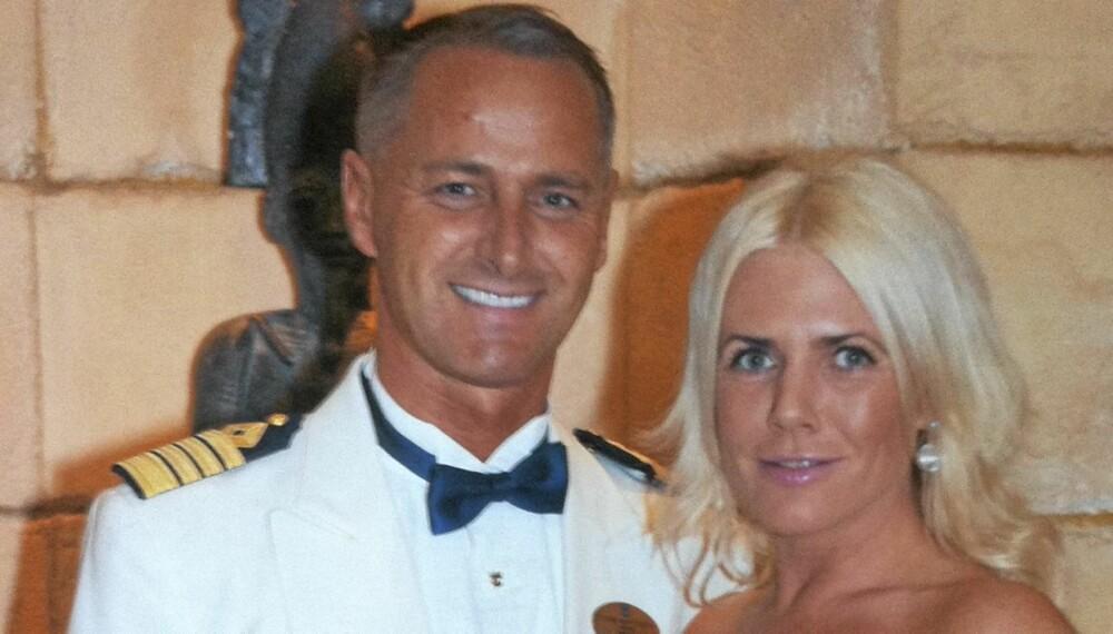 HEFTIG FLØRT: Sexologen Kristin Spitznogle og cruisebåtkaptein Frank Martinsen fant tonen i «Cruiseliv».
