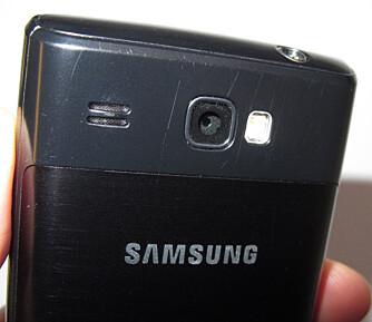 RIPER: Selv om telefonen er godt bygget er baksiden litt for enkel å ripe opp. Her gjelder det å behandle telefonen pent.