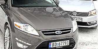 Holmenkollen 13012011 SML VW Passat Ford Mondeo