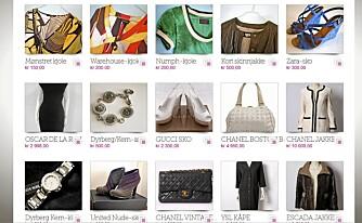 KJØP OG SALG: Selg klærne du har blitt lei, og finn nye skatter på Norges mest spennende bazar.