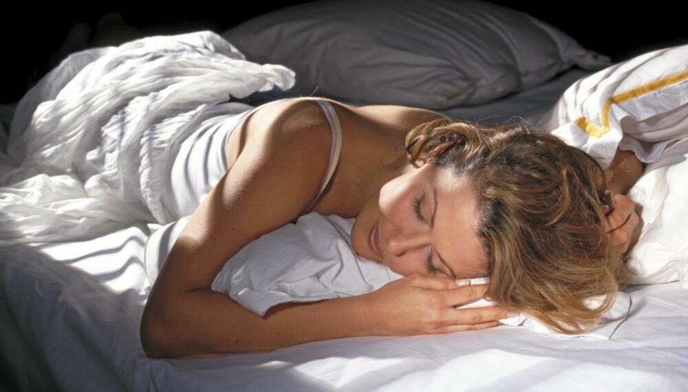En god natts søvn gjør underverker.