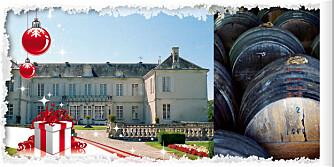 24. desember: En eksklusiv reise for 2 til Braastad-familiens cognacslott, Château de Triac.