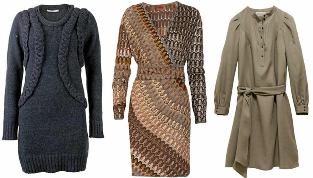 HVERDAGSKJOLER: Pynt om de grå høsthverdagene med fine feminine kjoler.