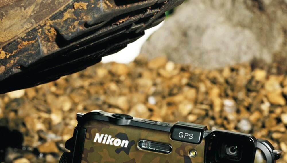 Dette nye allværskameraet fra Nikon til en verdi av 2990 kr kan bli ditt. Det eneste du trenger å gjøre er å svare på hva du synes om artiklene i Alt om Fiske nr. 9 2011.