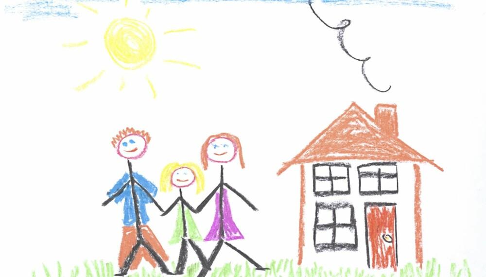 Min første skoledag. Illustrasjon: Colourbox.no