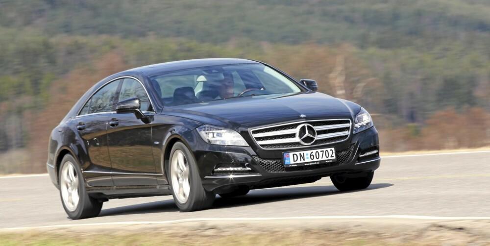 GJERRIG LUKSUS: Lekre Mercedes CLS 250 CDI går billig