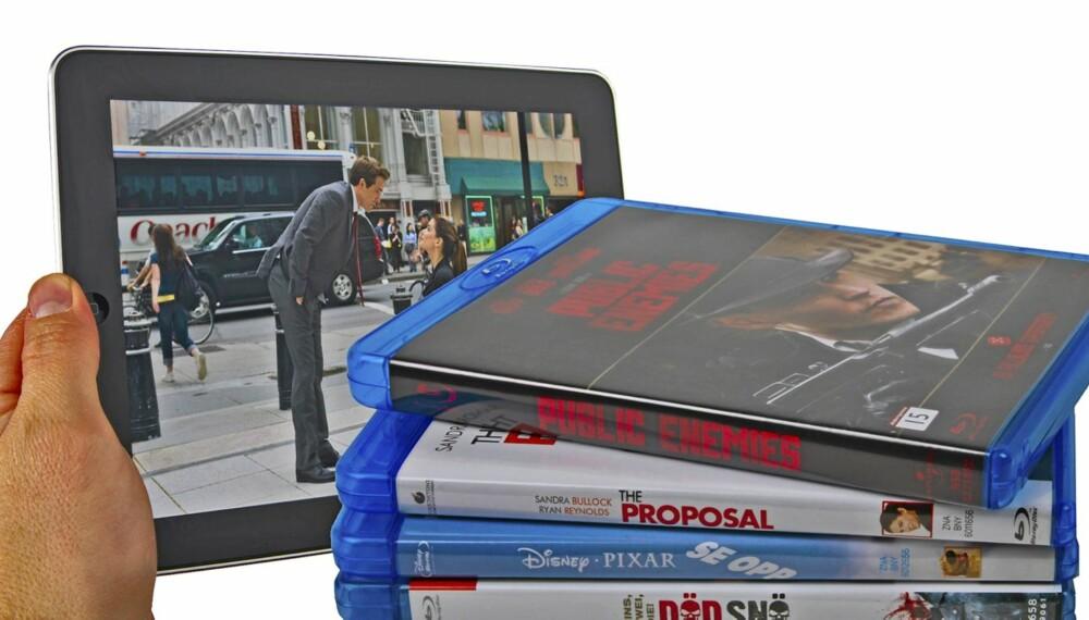 RIPP: Med litt egeninnsats kan du kopiere Blu-ray- og DVD-filmene dine til et format som gjør at du kan se dem på iPad eller på et Android-nettbrett.