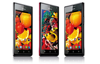 VERDENS TYNNESTE: Ascend P1S er ifølge Huawei verdens tynneste smarttelefon, og kommer til Norge før sommeren.