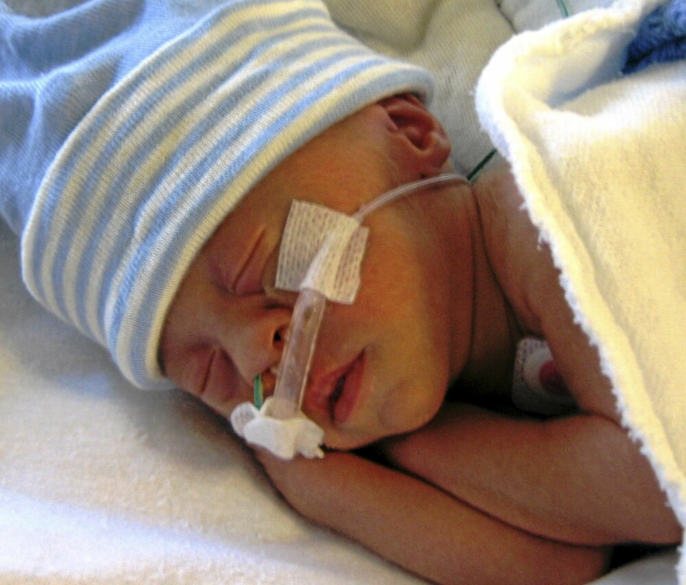 Denis, månedens BAM-baby, januar 2011