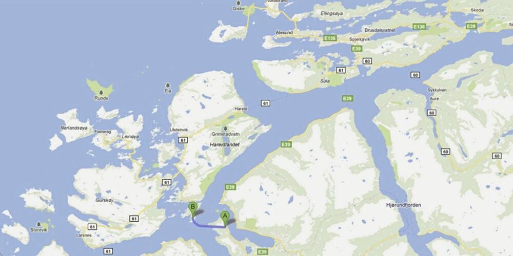 Rv 653 Eiksundtunnelen i Møre og Romsdal