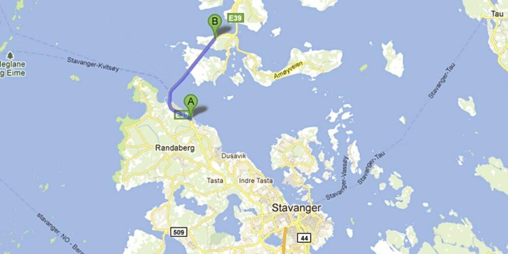 E39 Byfjordtunnelen i Rogaland