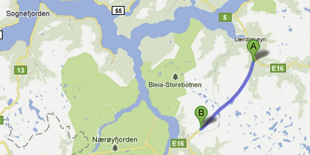 E16 Lærdalstunnelen, Sogn og Fjordane.
