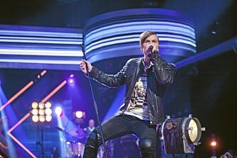 LANG VEI PÅ KORT TID: Atle Pettersens første album «Based on a True Story» har i løpet av kort tid solgt over 10 000 eksemplarer. Her fra X Factor i 2010, da vi først møtte kjekkasen.