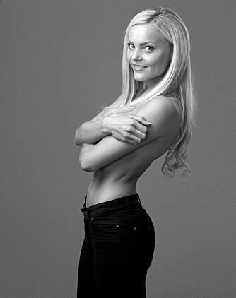 SKYTESKIVE: Caroline Berg Eriksen føler hun har fått et ufortjent stempel som dårlig forbilde.