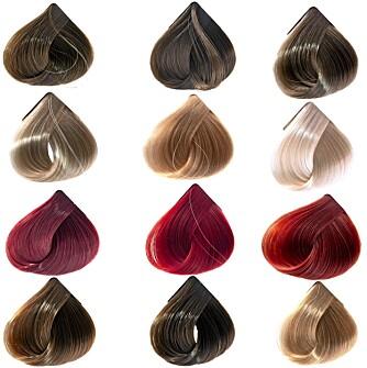 RIKTIG FARGE: Bruk fargekartene i butikken til å finne den perfekte fargen for deg.