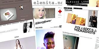 NORSKE MOTEBLOGGER: Det vrimler av motebloggere, her er et lite utvalg av dem vi anbefaler.