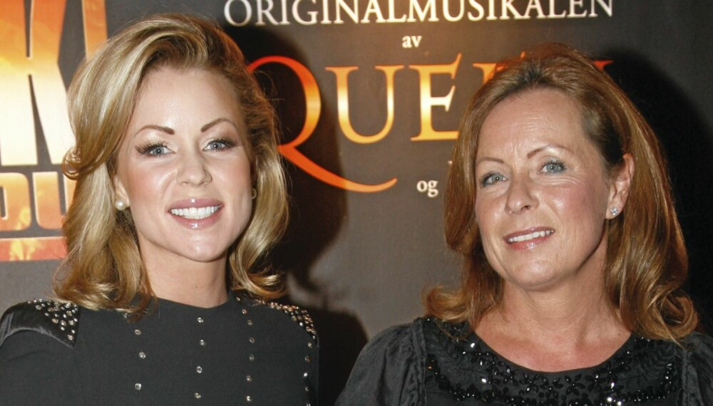 HJEM TIL MAMMA: Lene Alexandra Øien fant støtte i moren Nina Øien da hun ble syk.