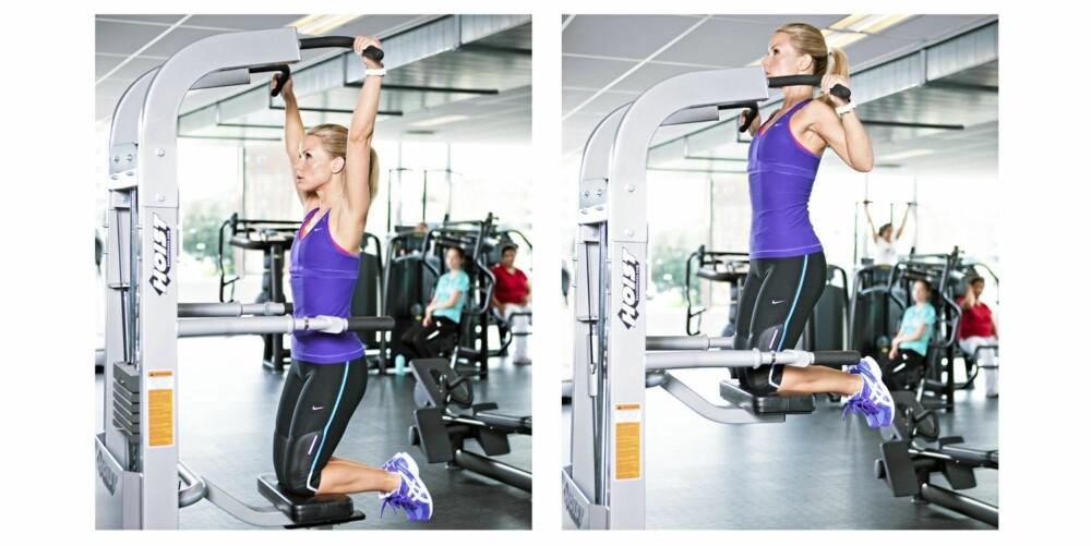 6. PULL-UPS I APPARAT: Rygg og biceps.