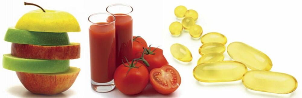 DU BLIR HVA DU SPISER: Sunt og grønt- og ikke minst Omega-fettsyrer gjør underverker for huden din.