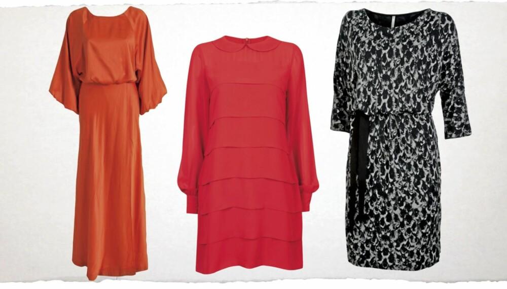 0d6934fe9759 KJOLEGUIDE  Fra venstre  Fotsid kjole fra www.nelly.com
