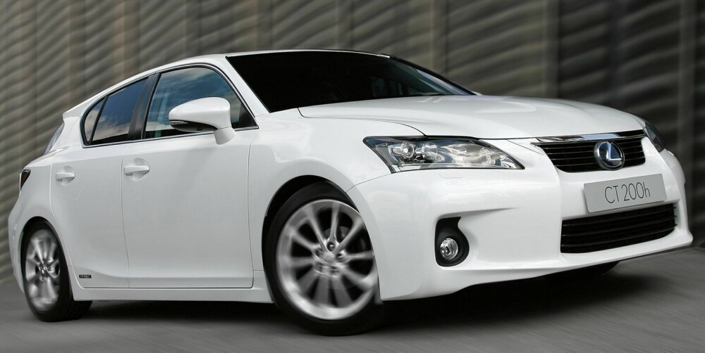 BEST I KLASSEN: Lexus CT200h