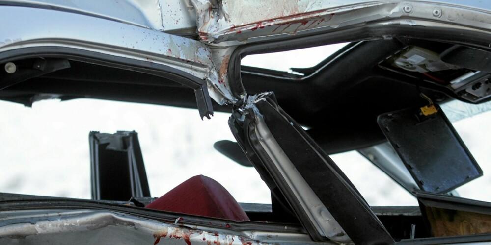 ULYKKER: Unge og ferske bilførere er spesielt ulykkesbelastet. Illustrasjonsfoto: Colourbox.no