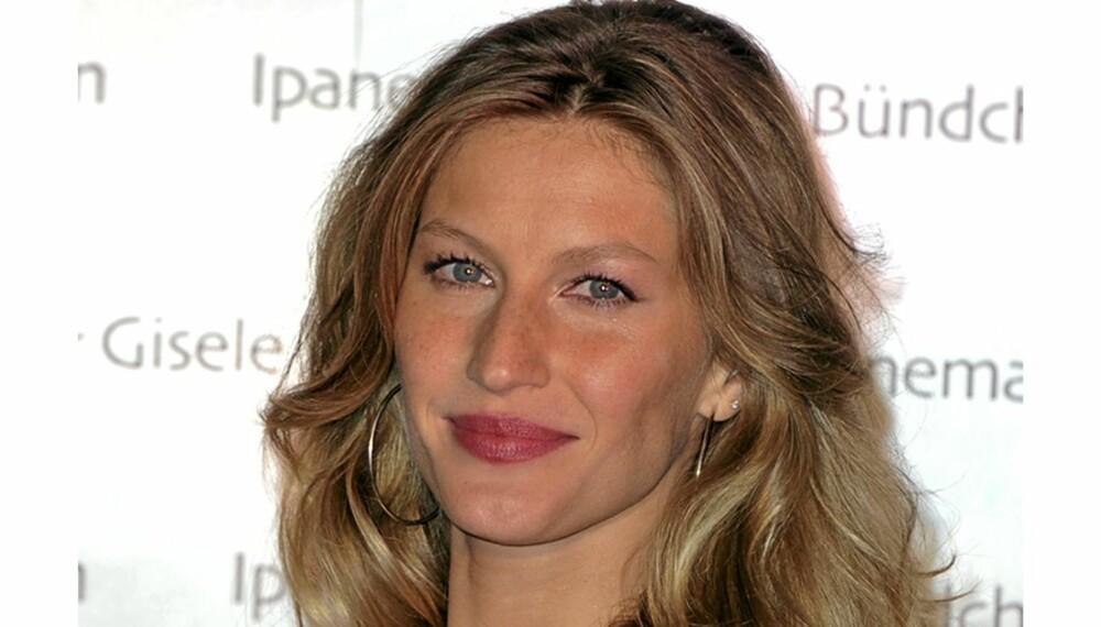 1c5f5e1a DE RIKTIGE FARGENE: Med sitt mellomblonde hår og varme undertone er Gisele  Bündchen en varm