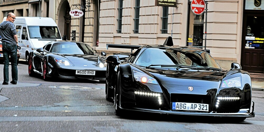 BYTUR: Bilene er som skreddersydd for 20 km/ i bygater. Not.