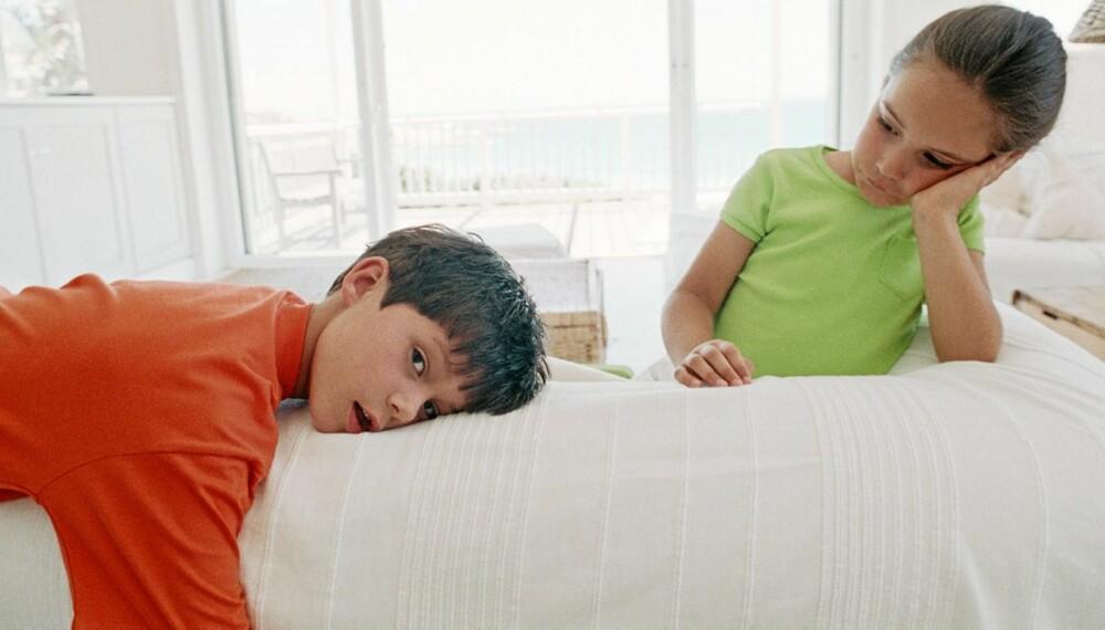 Vår 7 åring vil ikke sove - Pedagogen