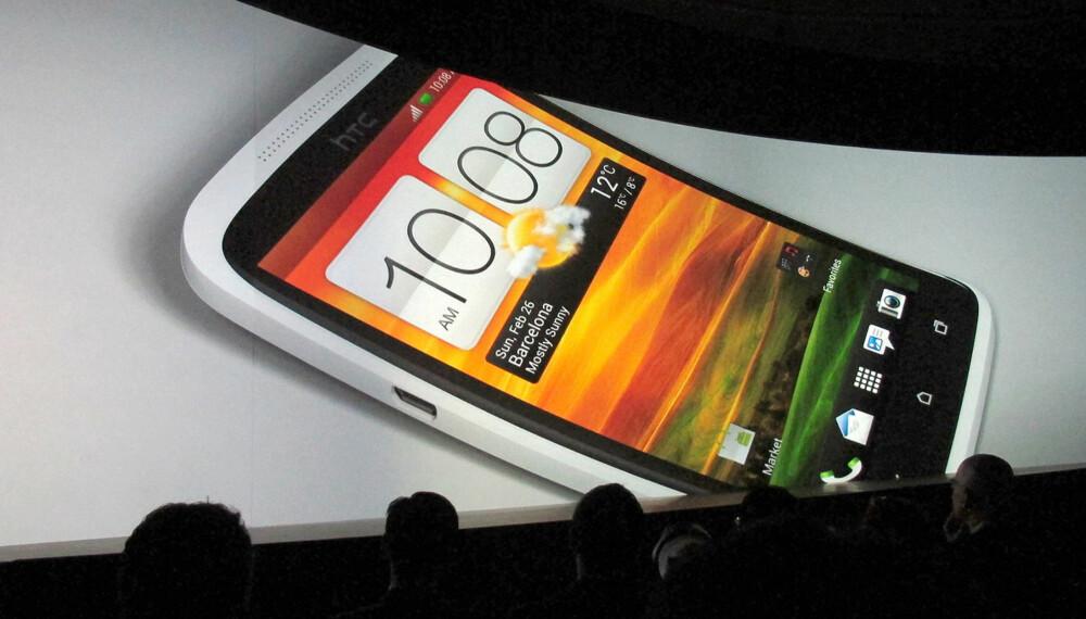 ÅRETS MOBILNYHETER: HTC var en av produsentene som gjorde seg bemerket under Mobile World Congress, med lanseringen av HTC One X.