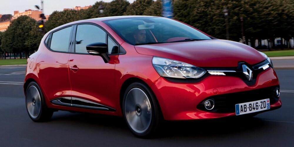 NOMINERT: Renault Clio. FOTO: Renault