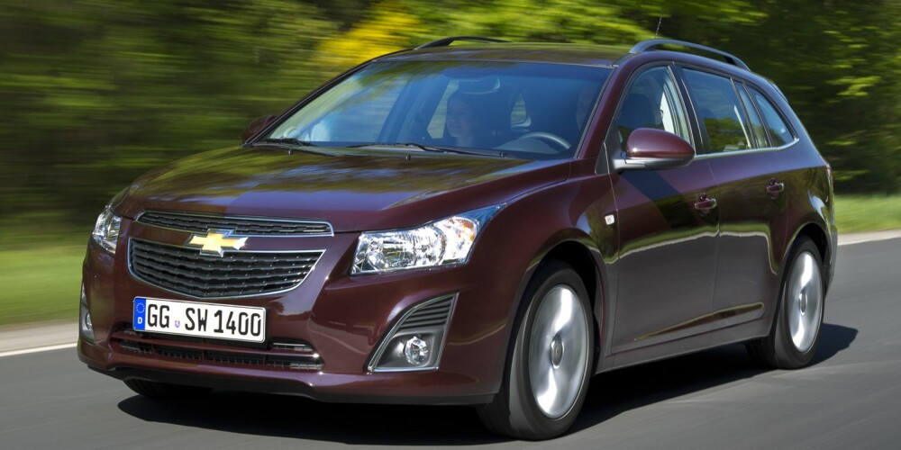 NOMINERT: Chevrolet Cruze. FOTO: weigl.biz