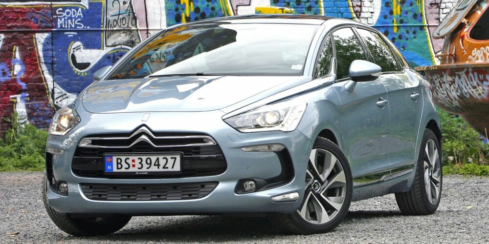 NOMINERT: Citroën DS5. FOTO: Petter Handeland